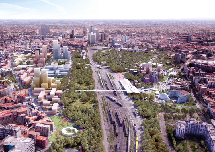 OMA Wins Competition for Adaptable Masterplan of Milan's Disused Railway Sites, © OMA & Laboratorio Permanente