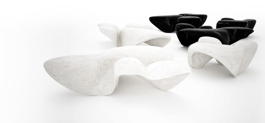 Mercuric Table - Zaha Hadid x CITCO. Image Courtesy of CITCO