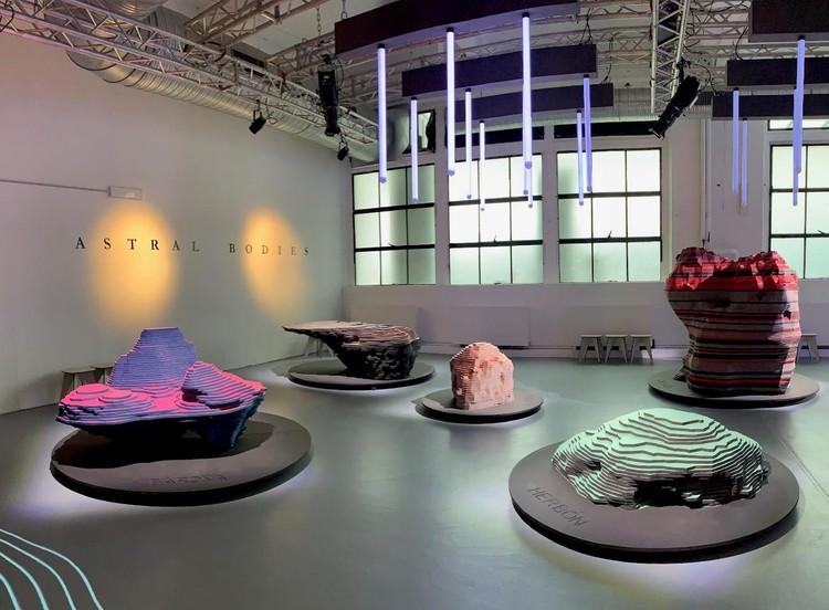 'Astral Bodies': la nueva serie de meteoritos de ENORME Studio y Vitamin-Arte, Cortesía de FINSA