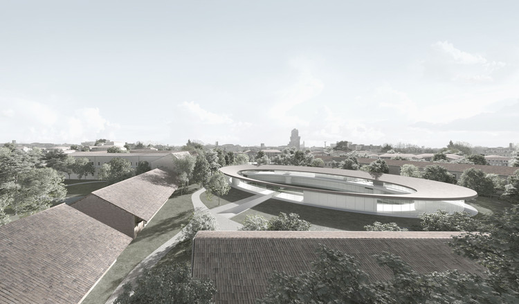 David Chipperfield Architects to Design Elliptical Campus for Padua University in Italy, © David Chipperfield Architects