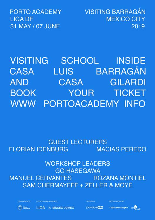 Porto Academy presenta programa de verano 'Visiting Barragán' en la Ciudad de México, © Porto Academy