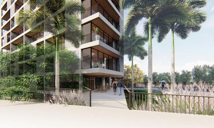 Anunciados os resultados do primeiro aberto de arquitetura Weefor Arq, Primeiro Lugar / Nachtergaele Navarro Arquitetos Associados