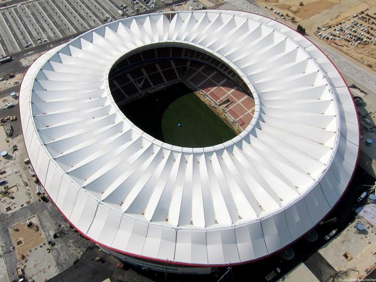 'Wanda Metropolitano' Football Stadium / Cruz y Ortiz Arquitectos, © FCC