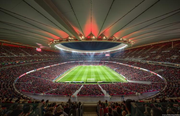 Wanda Metropolitano' Football Stadium / Cruz y Ortiz Arquitectos | ArchDaily