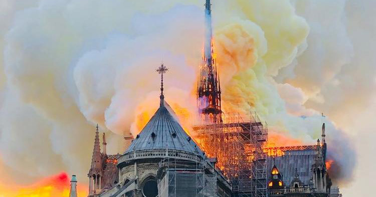 Why the Notre-Dame Cathedral Fire was So Difficult to Tackle