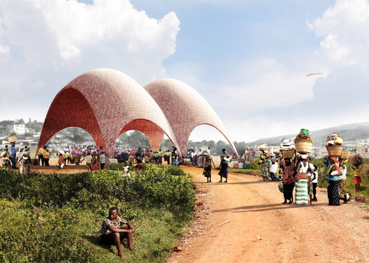 Droneports. Image Courtesy of Jonathan Ledgard and Norman Foster