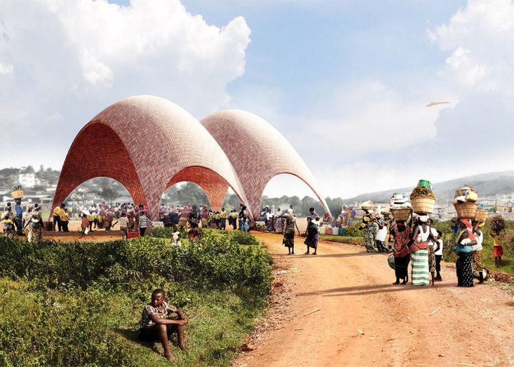 Aerial Futures Explores Droneports in East Africa and the Global South, Droneports. Image Courtesy of Jonathan Ledgard and Norman Foster