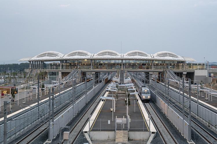 Gare TGV de Montpellier, Montpellier Railway Station / Marc Mimram, © Hisao Suzuki