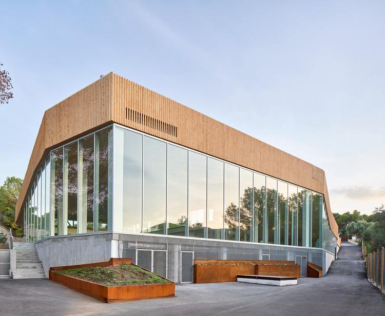 Centro deportivo Queens Centre / Alfonso Reina Arquitectura, © José Hevia