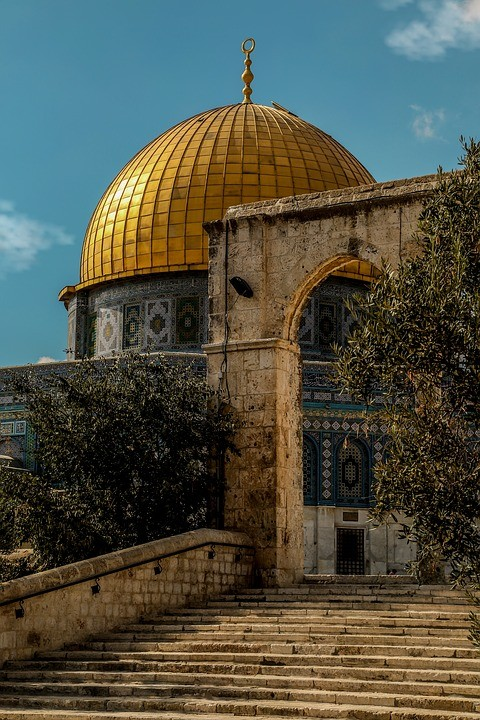 Dome of the Rock . Image Courtesy of Pixabay