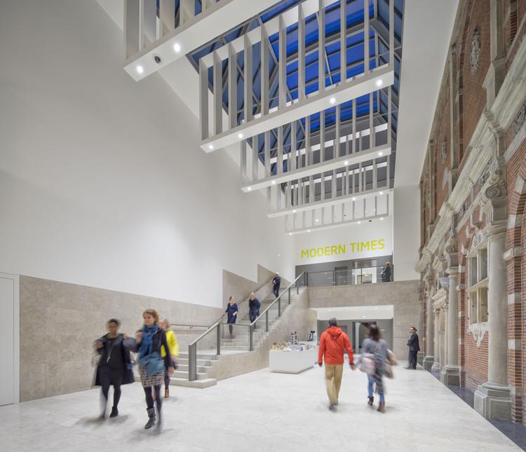 Pabellón Philips de exposiciones temporales del Rijksmuseum / Cruz y Ortiz Arquitectos