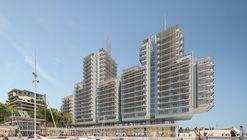 "Renzo Piano Designs ""Floating"" Seaside Residences for Monaco's New Eco-District"
