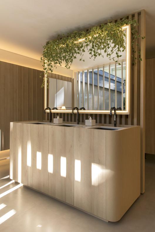 Banheiro Público Recinto do Bosque / GDL Arquitetura, © Felipe Araújo