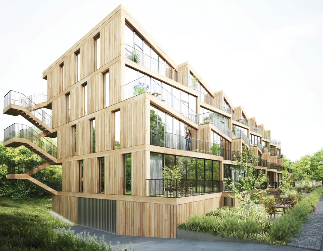 Gallery of NL Architects + STUDYO Design Terraced ...