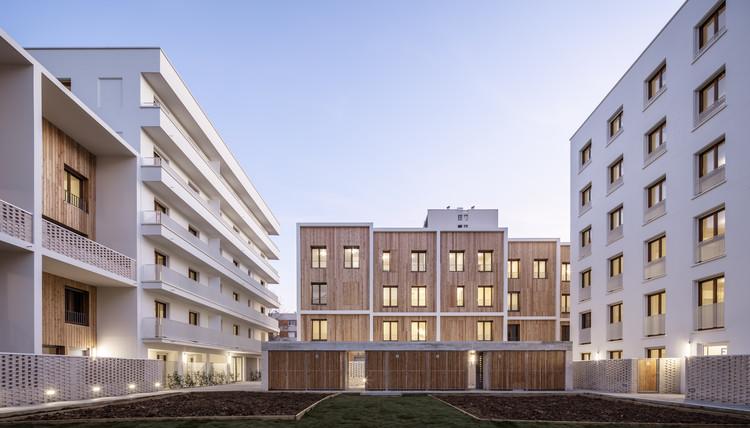 71 Social Housing Units La Courneuve / JTB.architecture + MaO ...