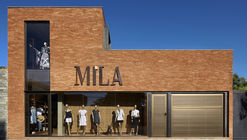 Mila Showroom / David Guerra Arquitetura e Interiores