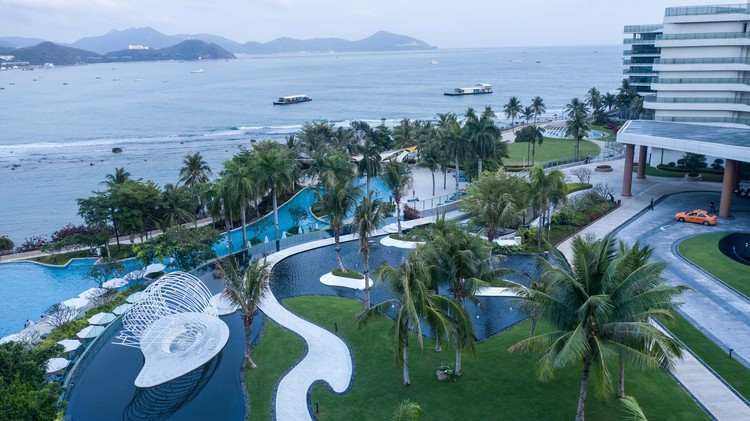 JW Marriott Hotel Sanya Dadonghai Bay / W&R Group, © Lin Lv