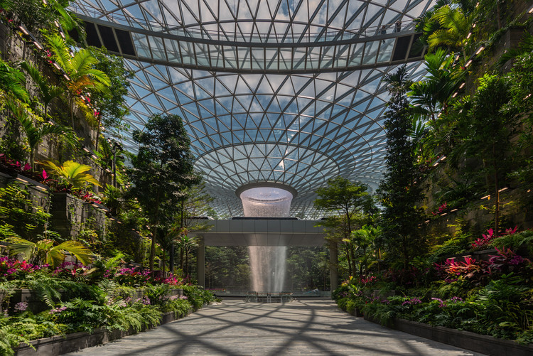 Jewel Changi Airport / Safdie Architects, Courtesy of Jewel Changi Airport