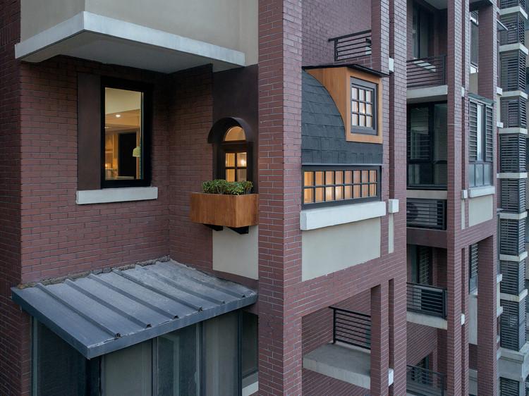 Free Balcony An / Drawing Architecture Studio, © Zhi Xia