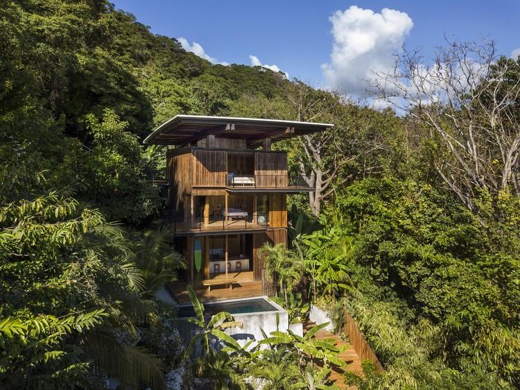 Casa del árbol en Costa Rica / Olson Kundig, © Nic Lehoux