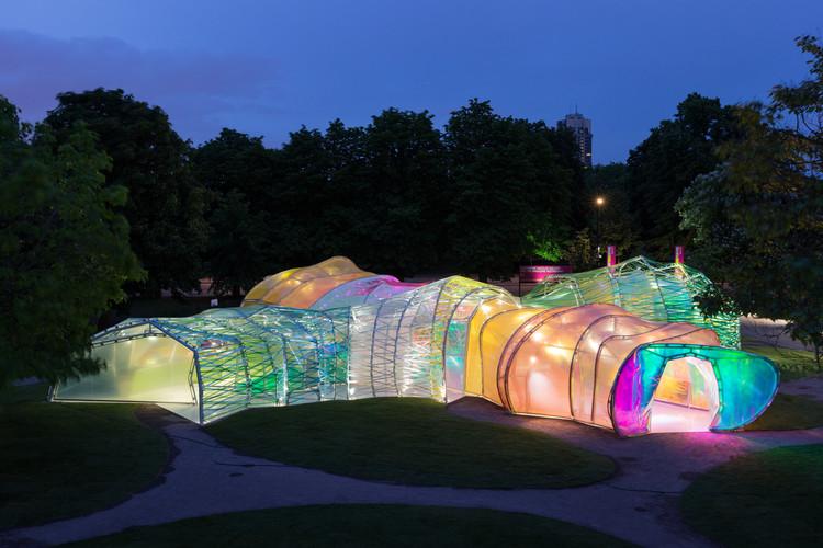 Serpentine Pavilion projetado por SelgasCano em 2015 será transferido para Los Angeles, © Iwan Baan