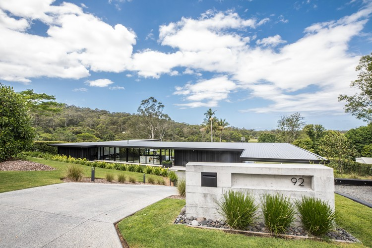 The Doonan Glasshouse Sarah Waller Design Archdaily