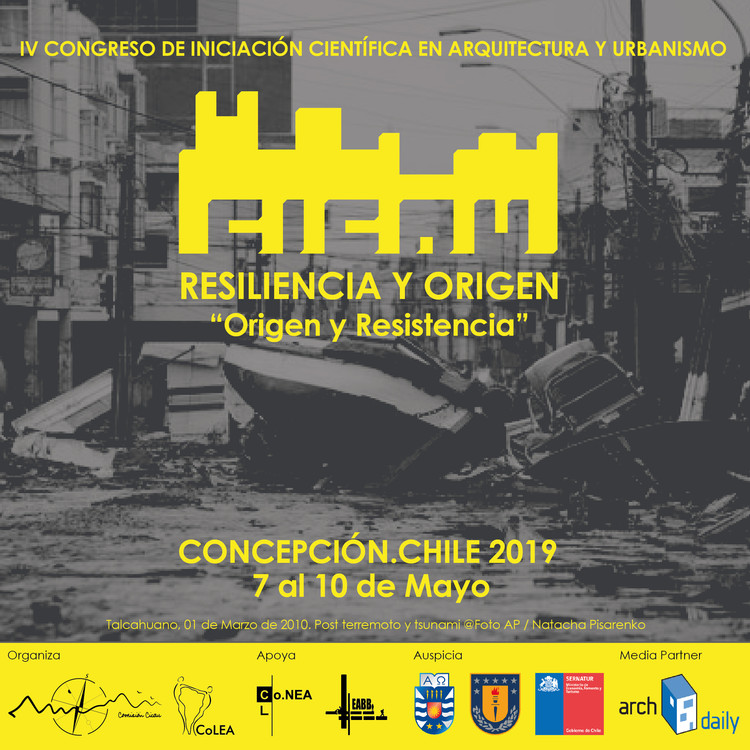 CICAU 2019: Congreso de Iniciación Científica en Arquitectura y Urbanismo en Concepción, Cortesía de CICAU