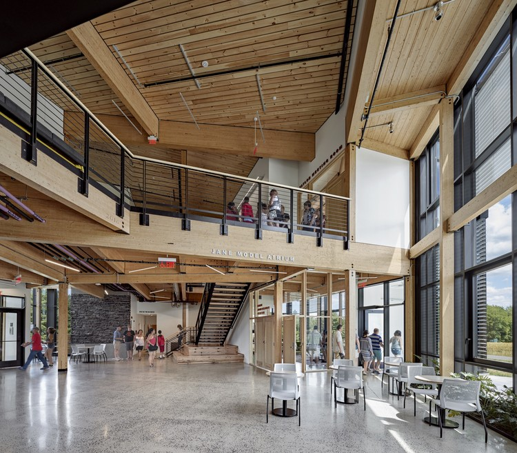 """For Us, Every Project is About Moving Forward"": In Conversation with Jason Forney, Jason Jewhurst, and Dana Kelly of  Bruner/Cott Architects, Hampshire College R.W. Kern Center - Photo by Robert Benson"
