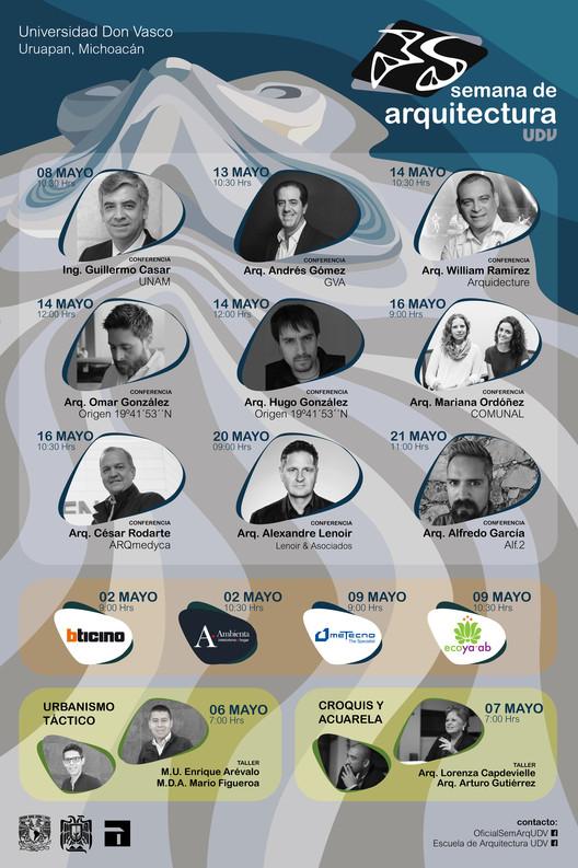 Universidad Don Vasco | 35 Semana de Arquitectura, Conferencistas invitados | 35 Semana de Arquitectura UDV