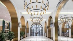 Lobby and Public Space Renovation of the Amber Building / KWSD