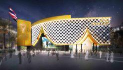 """""""Cortina de Flores"""": pavilhão da Tailândia para a Expo 2020 Dubai começa a ser construído"""