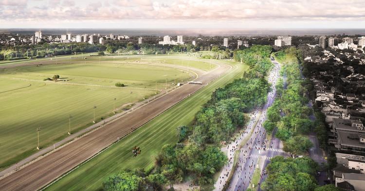 Conoce la propuesta para el Parque Lineal Hipódromo de San Isidro de BAM! Arquitectura, Cortesía de BAM! Arquitectura