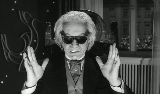 The evil protagonist of © Fritz Lang's The Thousand Eyes of Dr. Mabuse