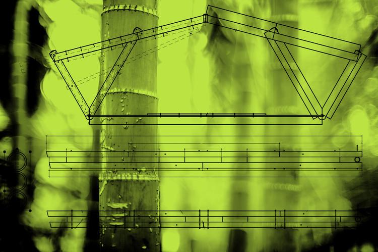 Componentes de Bambu: Projeto de Produção e Processo de Pré-fabricação, 55Laney69 on VisualHunt.com / CC BY-NC - modificado. Image via Visual Hunt