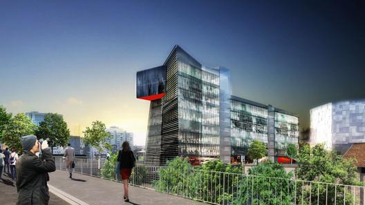 FUTURE: Studio Odile Decq - TWIST Building. Image © Studio Odile Decq
