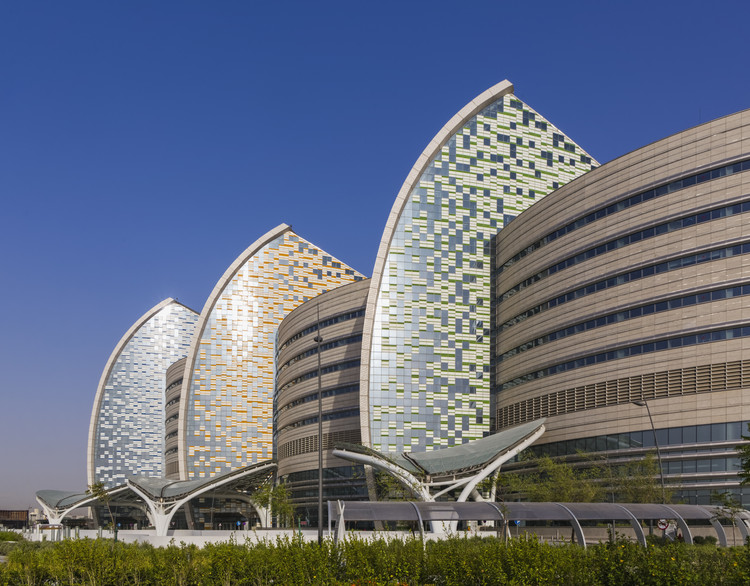 Sidra Medical and Research Center / Pelli Clarke Pelli Architects, © Jeff Goldberg/ESTO