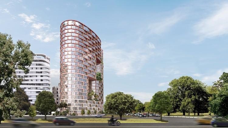 BIG e Uribe & Schwarzkopf projetam torre de tijolos em Quito, Equador, © Bjarke Ingels Group