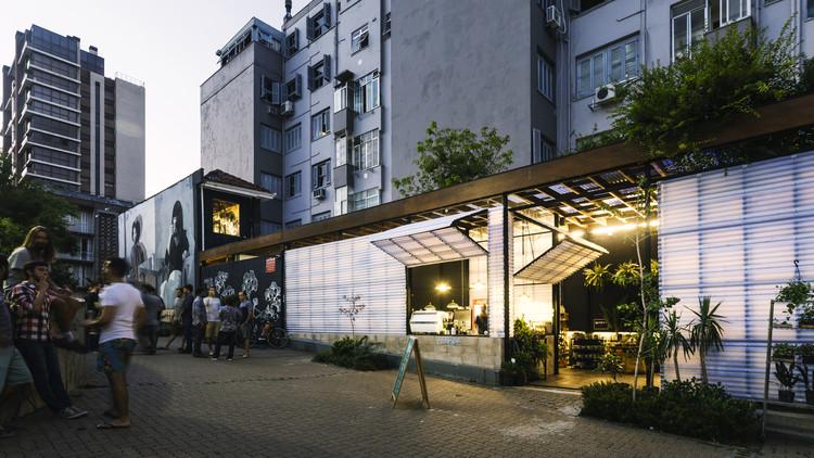 Café e Floricultura Ginkgo / BARRA Arquitetos, © Gabriel Carpes