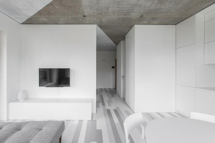 Departamento triángulos blancos / YCL studio, © Andrius Stepankevičius