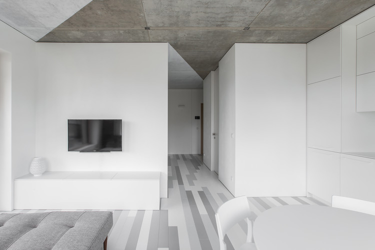 The White Triangles Apartment / YCL studio, © Andrius Stepankevičius