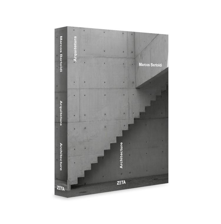 Lançamento do livro 'Marcos Bertoldi Arquiteto', Capa Livro - Acervo Escritório