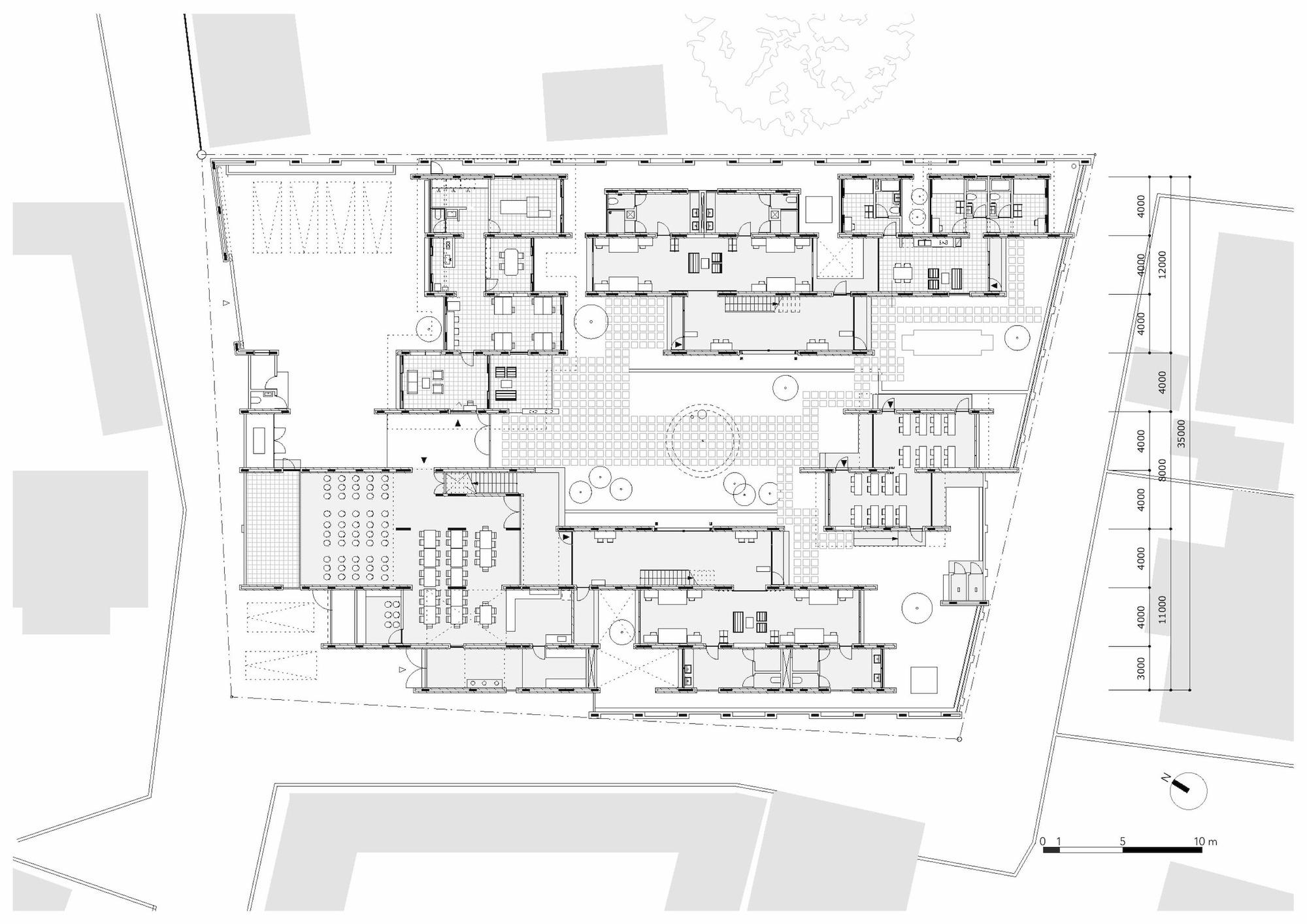 Gallery Of Au Dormitory Terrain Architects 20