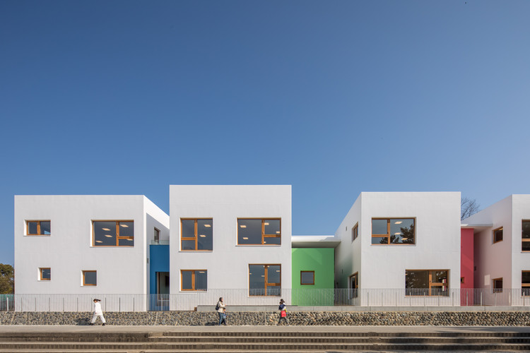 Kakogawa Kindergarten / Takenaka Corporation, © Tomoki Hahakura
