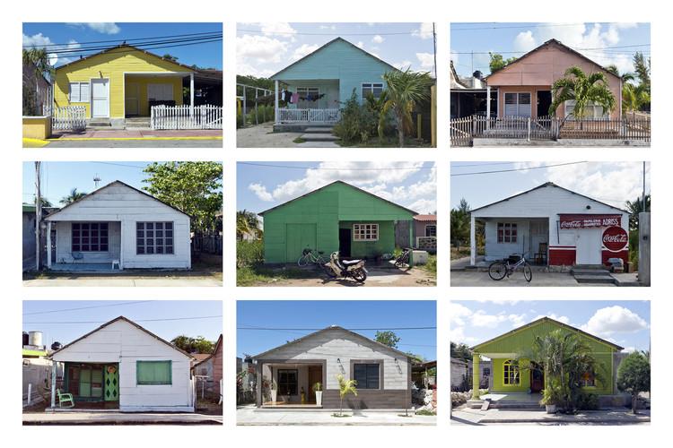 Estos son los proyectos en México reconocidos por la Graham Foundation, Mosaico tipológico: casa en San Felipe. Yucatán. 2016. © Mariana Ordóñez + Onnis Luque. Image vía Graham Foundation