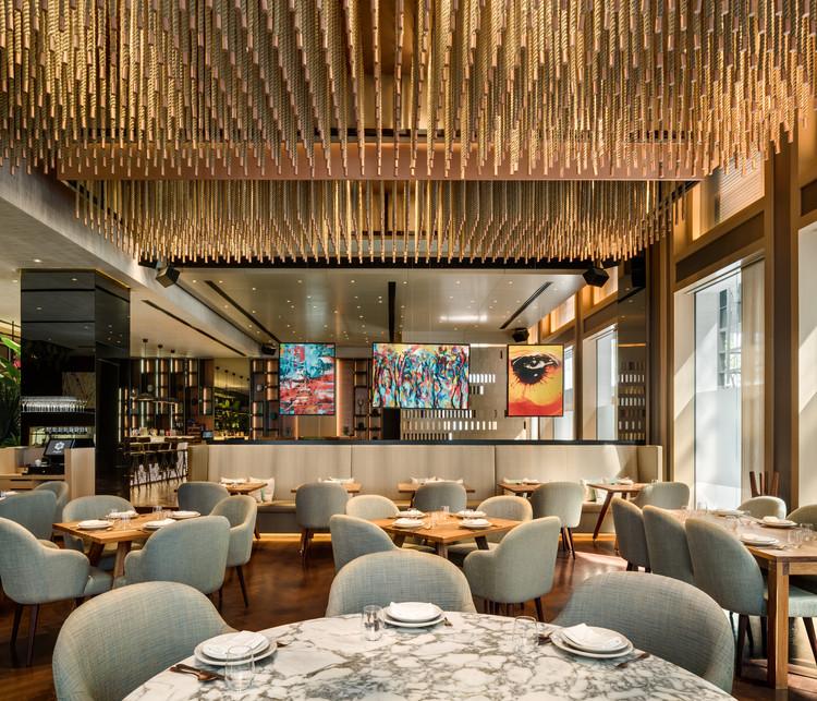 Peyote Dubai Restaurante / Sordo Madaleno Arquitectos, © Rafael Gamo