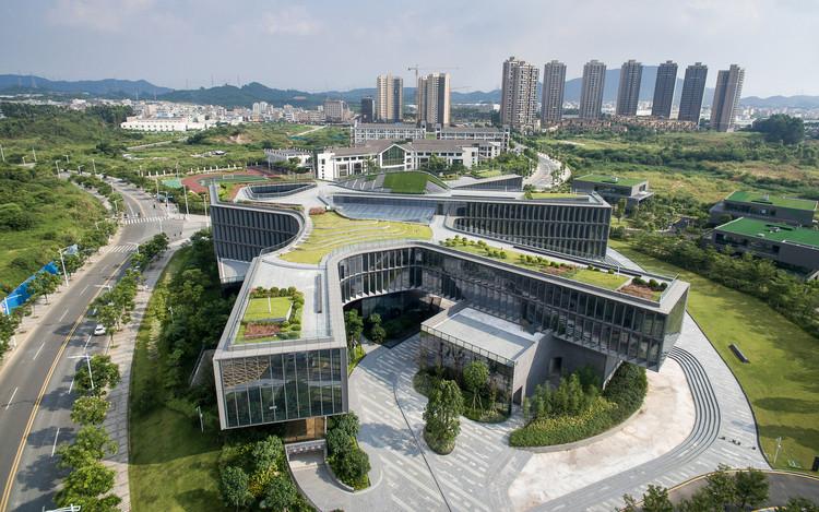 CIMC Headquarter Office Building / CCDI Dongxiying Studio, © Chao Zhang