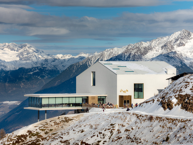 Lumen Museum of Mountain Photography / Gerhard Mahlknecht, © Marco Zanta