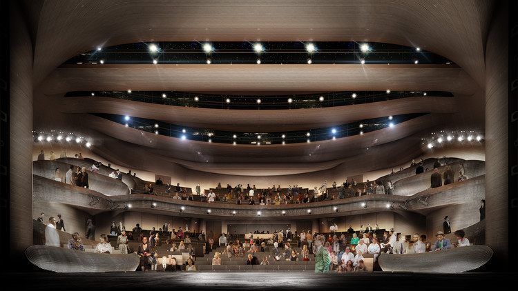 Trahan Transforms Atlanta's Alliance Theatre with Advanced Fabrication, Alliance Theatre. Image Courtesy of Trahan Architects