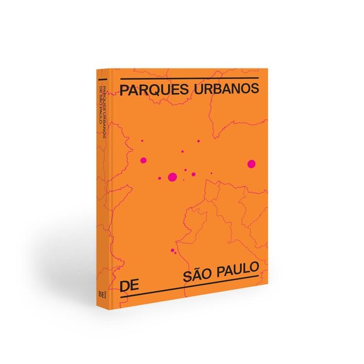 """Lançamento do livro de fotografias """"Parques Urbanos de São Paulo"""", Capa do livro"""