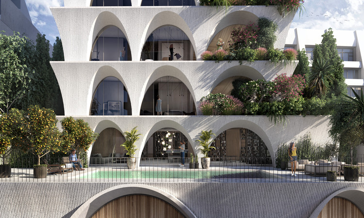 odD+ Architects Reinterpret Historic Courtyards and Gardens in Quito Tower, Common Ground. Image Courtesy of odD+ Architects